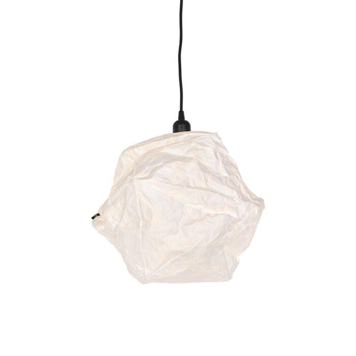 Σκανδιναβική-κρεμαστή-λάμπα-λευκό---Pepa-Lua