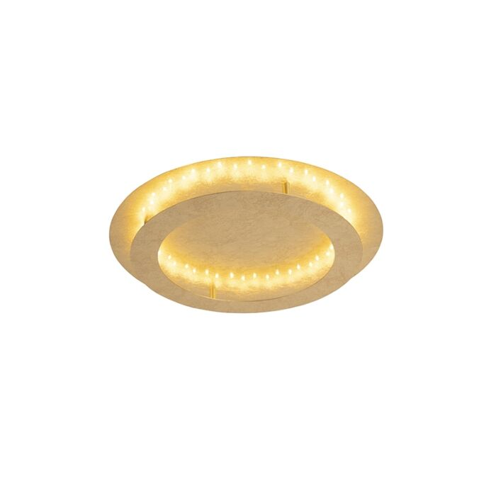 Art-deco-ανώτατο-όριο-χρυσό-/-ορείχαλκο-50-cm-με-LED---Belle