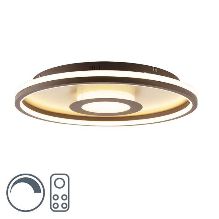 Φωτιστικό-οροφής-χρυσό-59-cm-με-LED-με-τηλεχειριστήριο---Oculus
